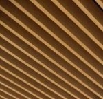 кубообразный потолок под дерево